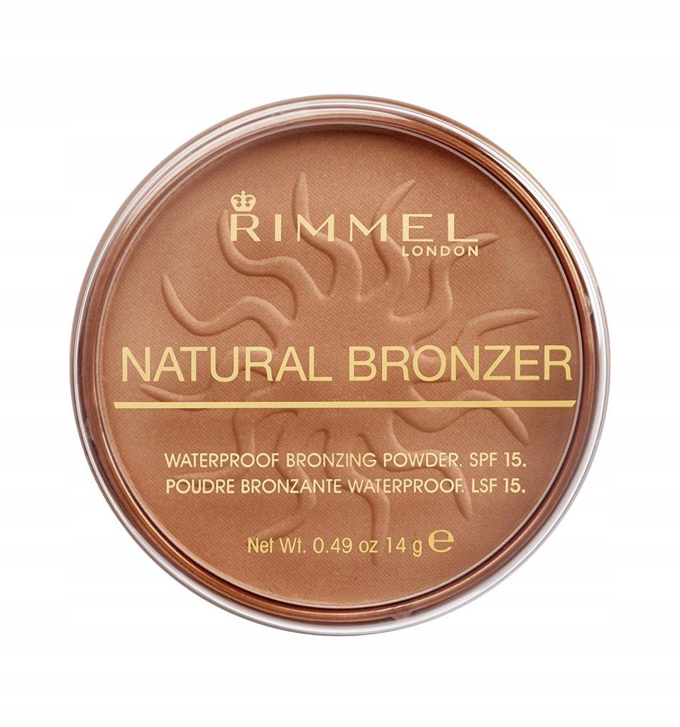 Rimmel Natural Bronzer 021 Sun Light 14g bronzer