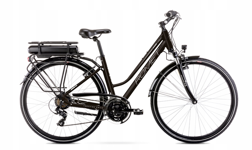 2028850- 18M Rower elektryczny ROMET GAZELA czarny
