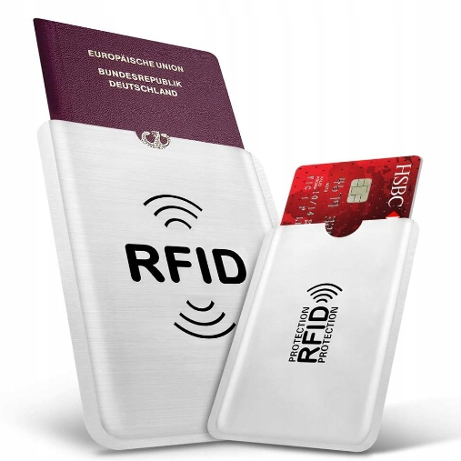 POKROWIEC OCHRONNY BLOKER RFID NA KARTY 15 szt