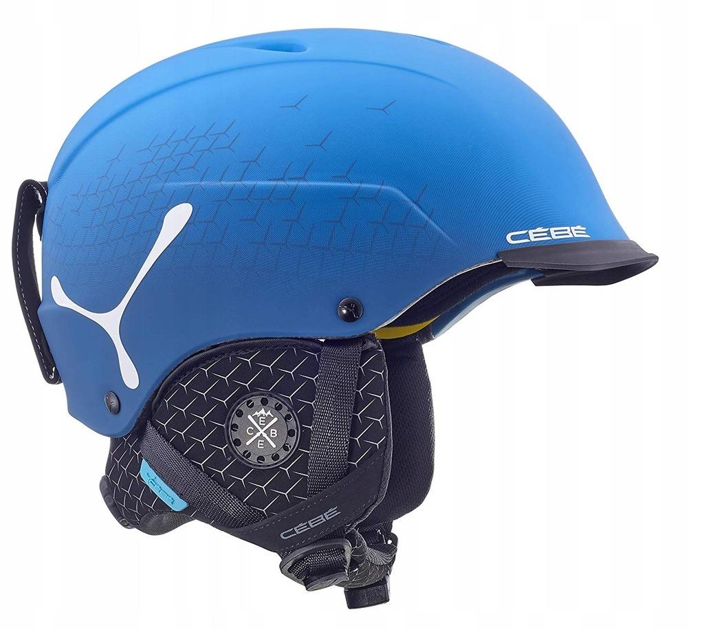 Okulary dla sportowców, kaski i gogle narciarskie Cebe