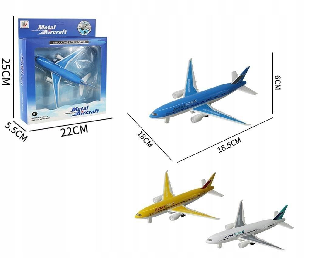 Samolot metalowy z napędem mix