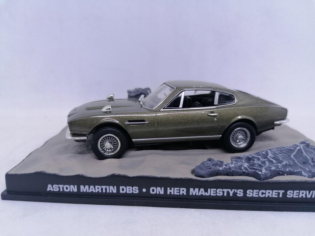 Aston Martin Dbs 007 James Bond 1 43 Auto T8 1 8937546114 Oficjalne Archiwum Allegro