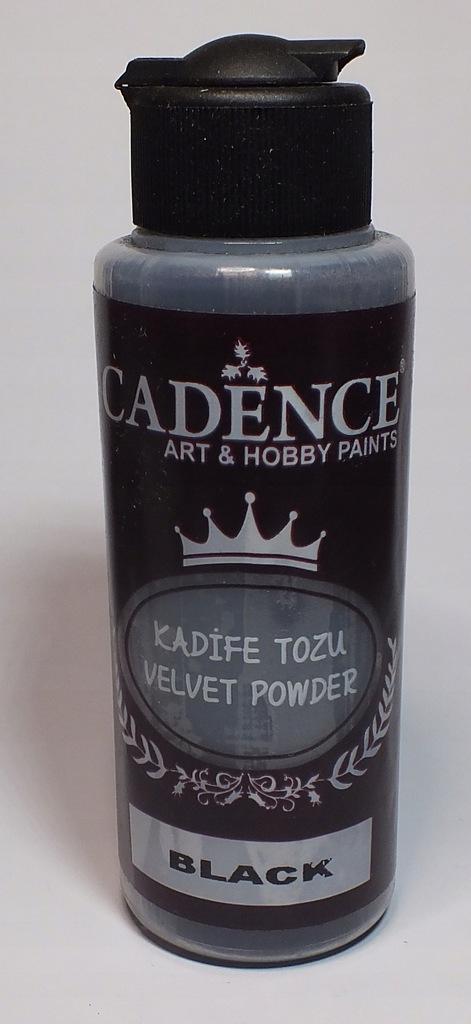 PUDER VELVET POWDER - Czarny, 120 ML