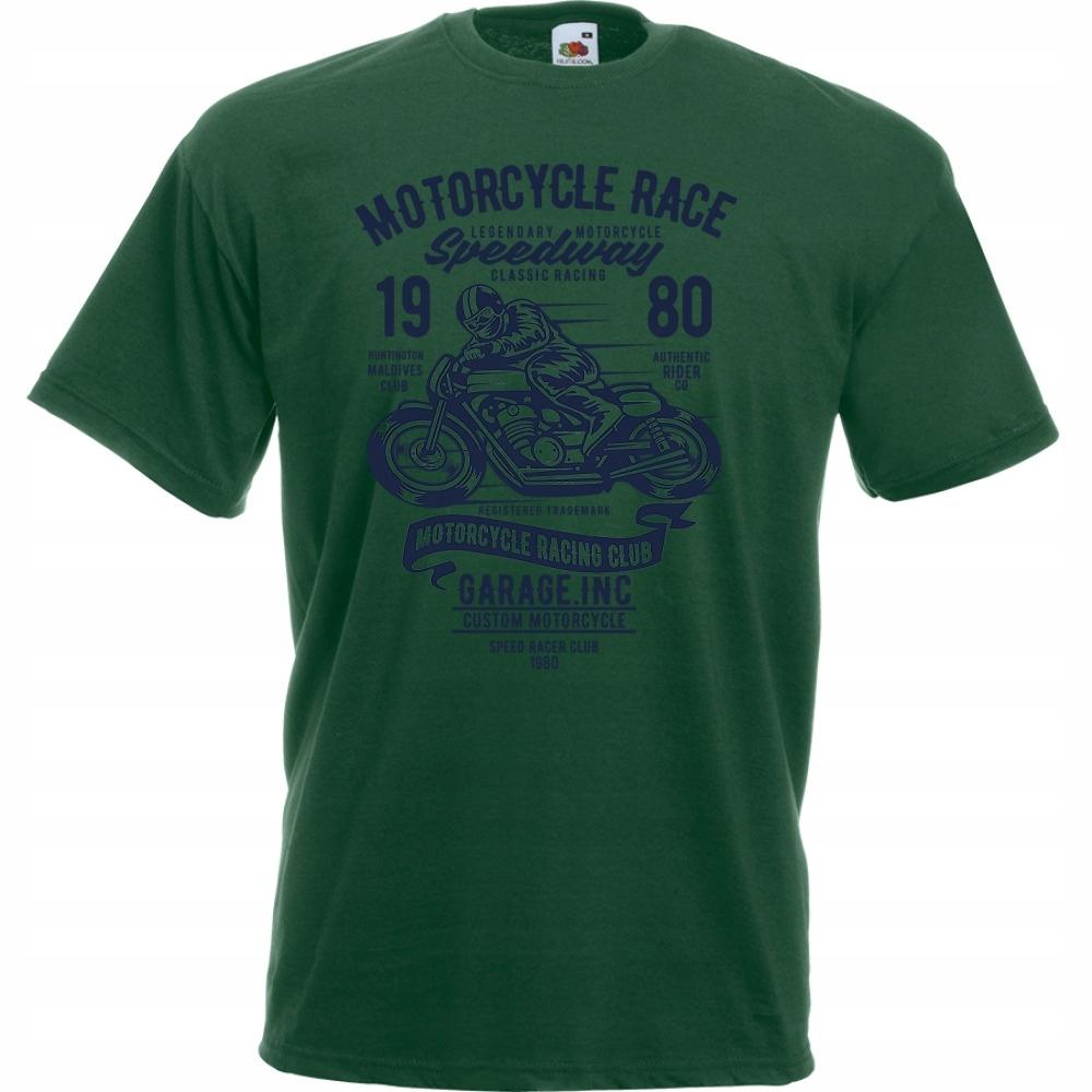 Koszulka motocykl motor motocyklista kask L butelk