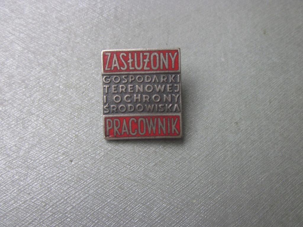Odznaka Zasłużony Pracownik Gospodarki Terenowej 1