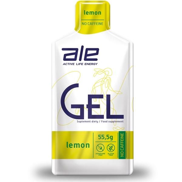 ALE Żel Energetyczny 55,5g Cytrynowy Węglowodany