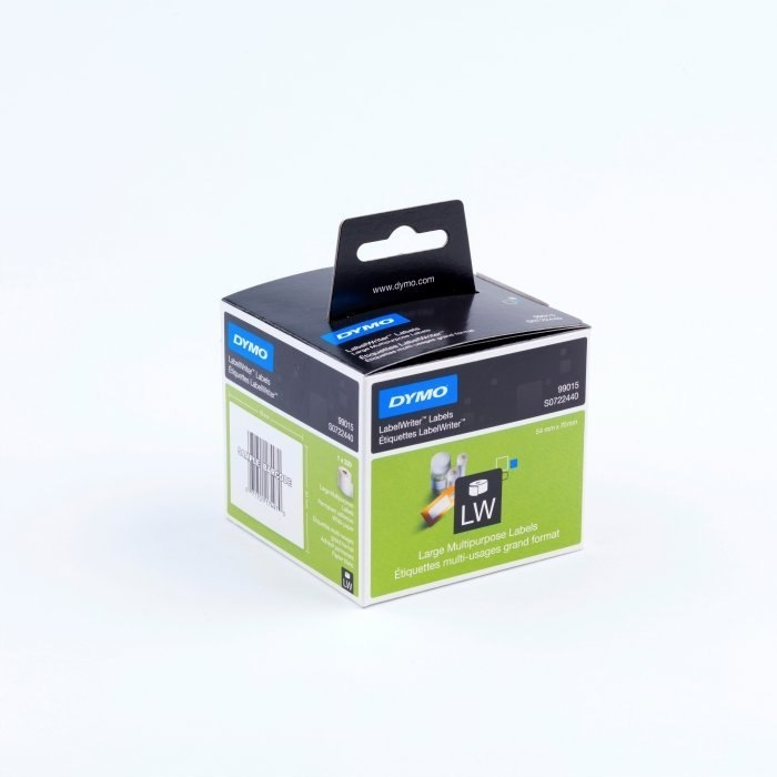 Etykiety DYMO na dyskietke 70x54 bia 99015 S072244