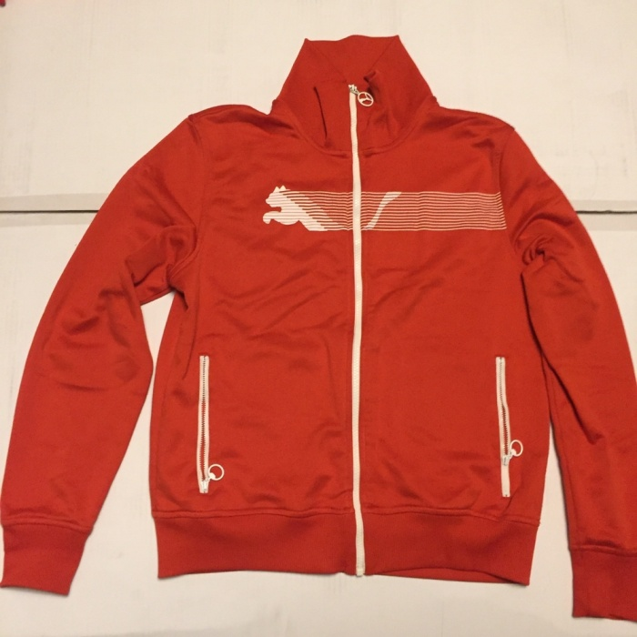 Puma bluza czerwona Oldschool