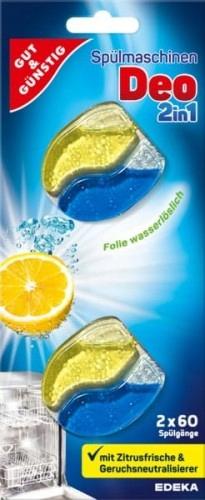 G&G Spulmaschinen Deo Zapach do zmywarki 2in1