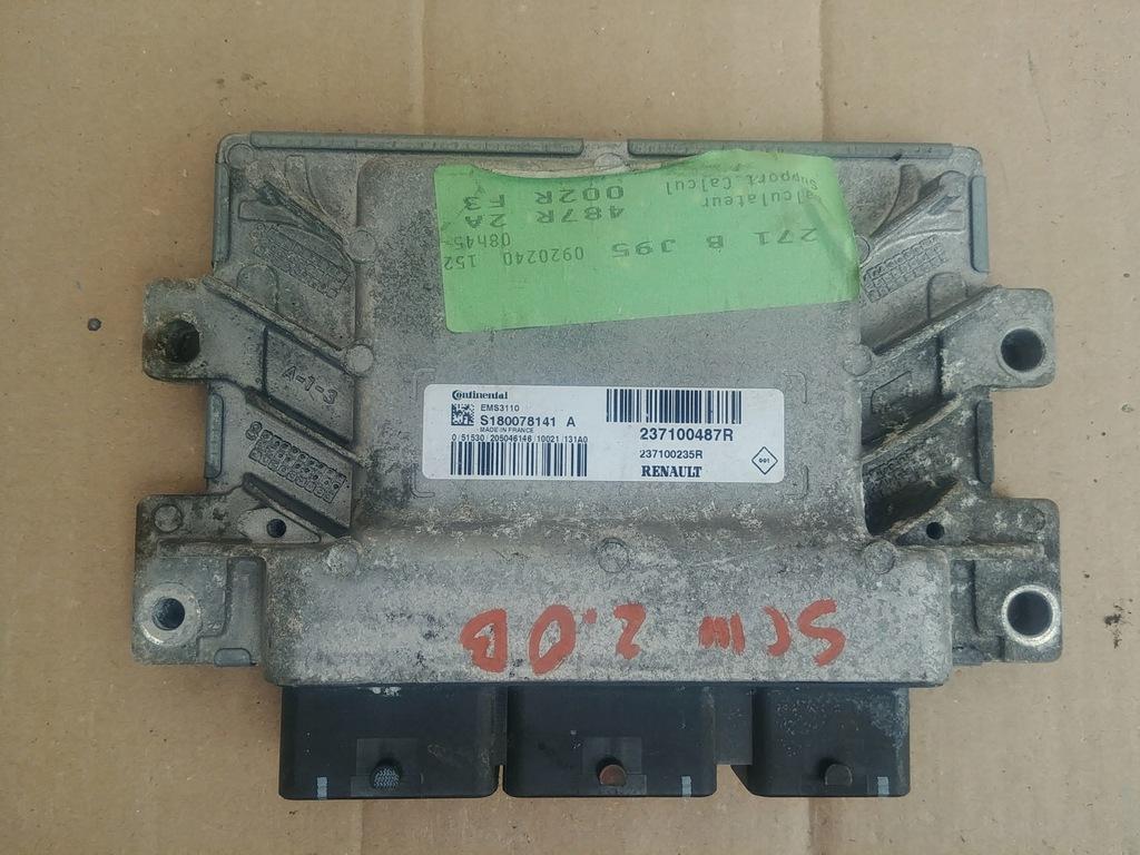 Komputer silnika SCENIC III 2.0 benzyna 237700487R