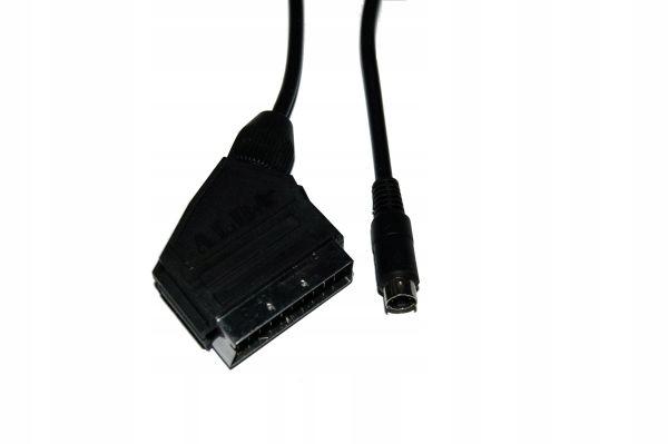 Kabel Skart<-- wtyk mini din 4 piny SVHS 2,5 m