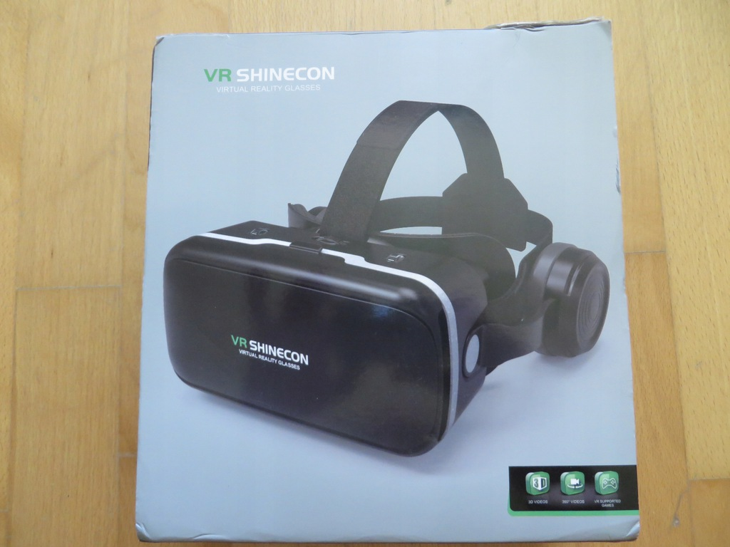 Okulary VR 3D Shinecon Gogle