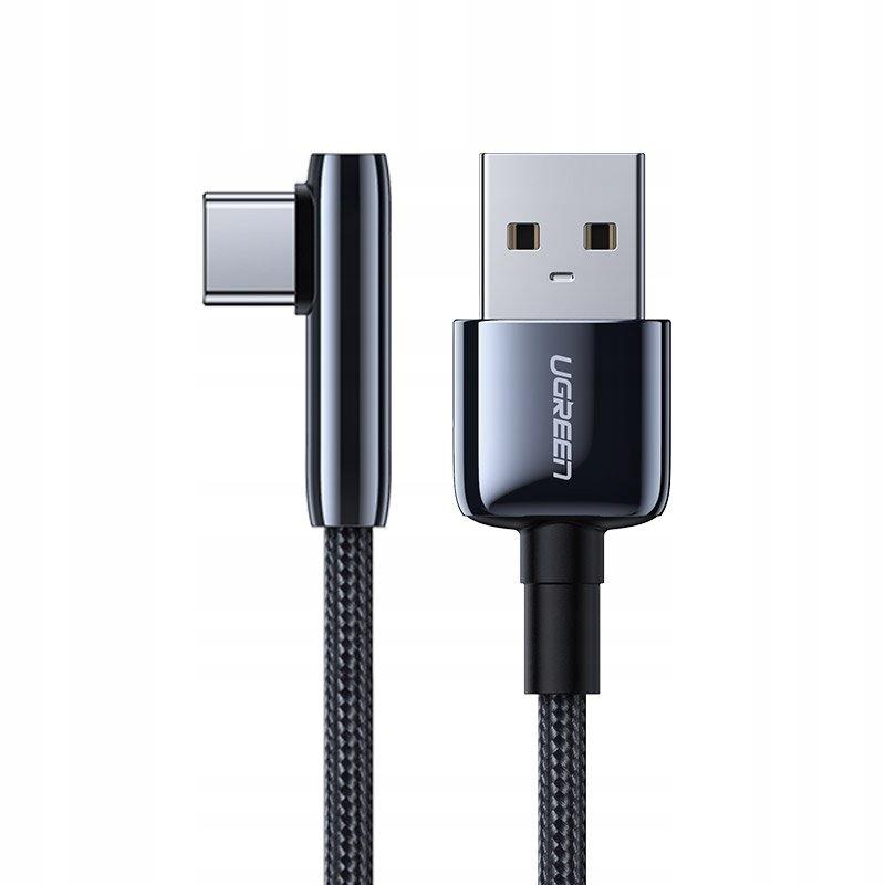 Ugreen kątowy kabel przewód z bocznym wtykiem USB