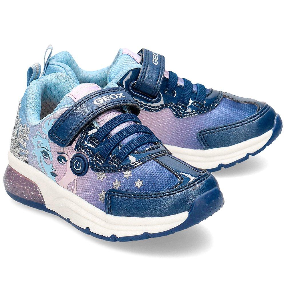 Geox Granatowe Sneakersy Dziecięce Frozen R.32