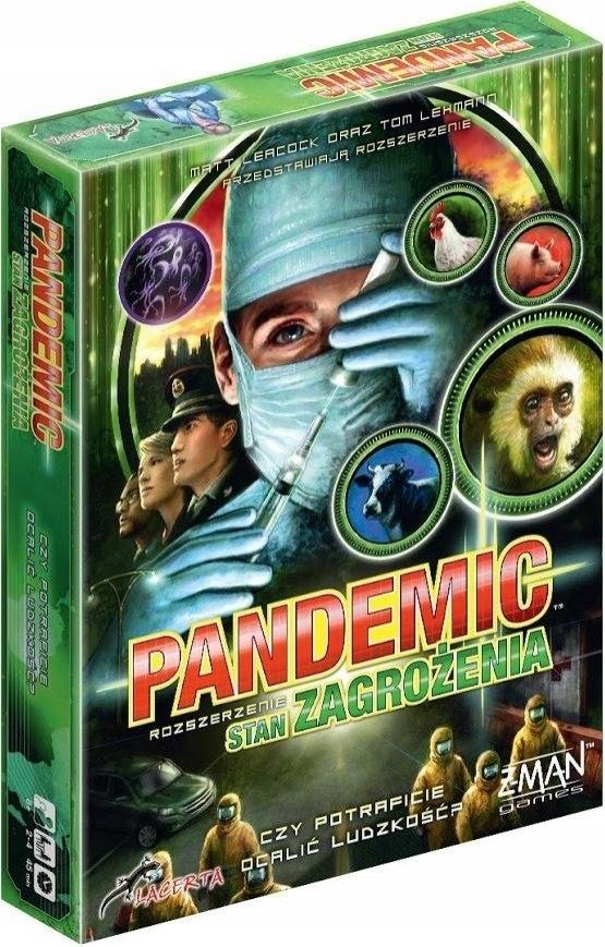 Gra Pandemic: Stan Zagrożenia