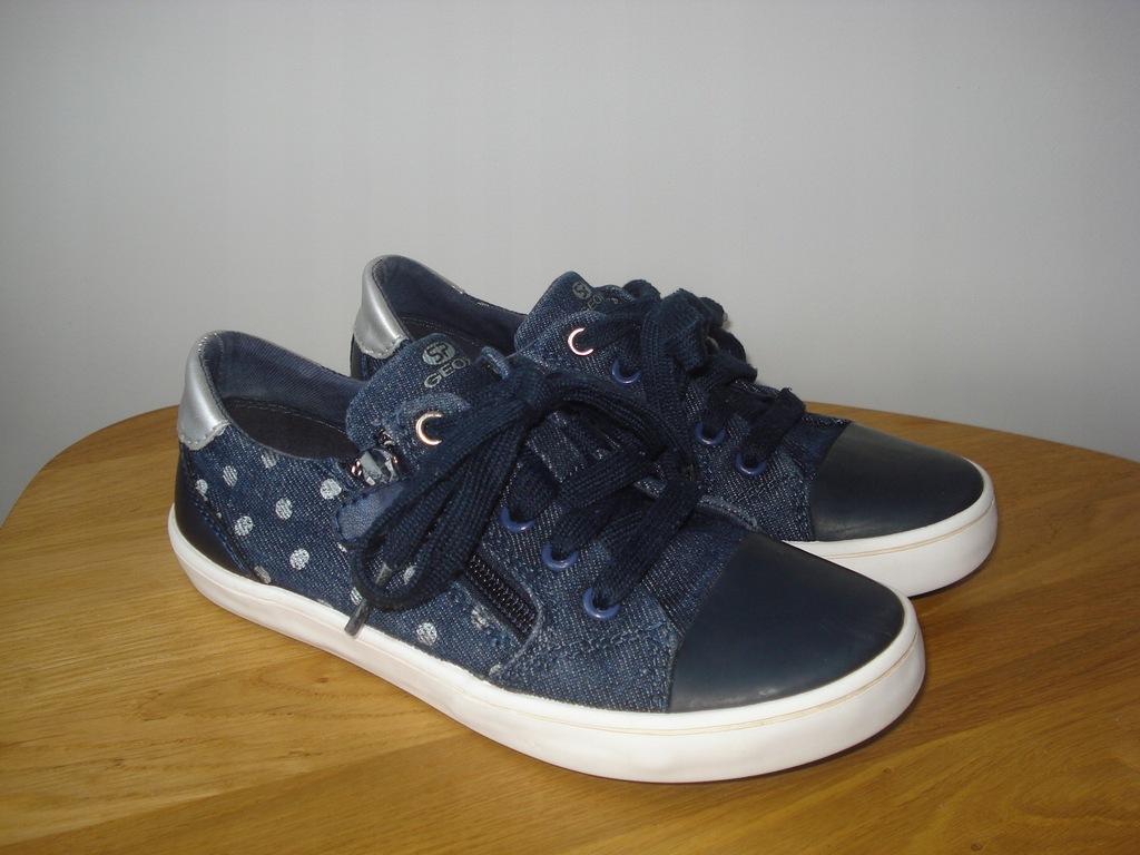 GEOX jeansowe trampki tenisówki 31