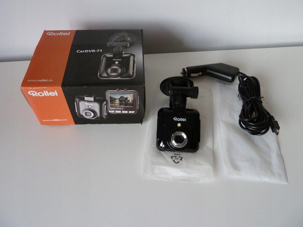 Kamera do auta Wideorejestrator Rollei CARDVR-71