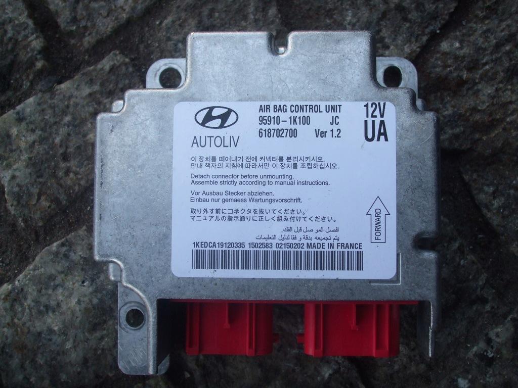 SENSOR PODUSZEK 95910-1K100 HYUNDAI IX20 2010-