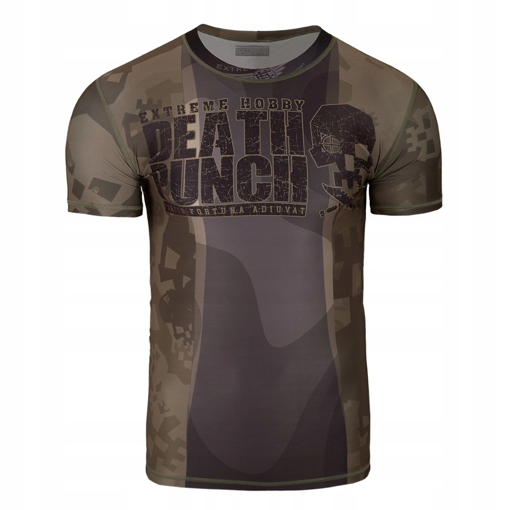 Koszulka rashguard MMA męski DEATH PUNCH 2XL