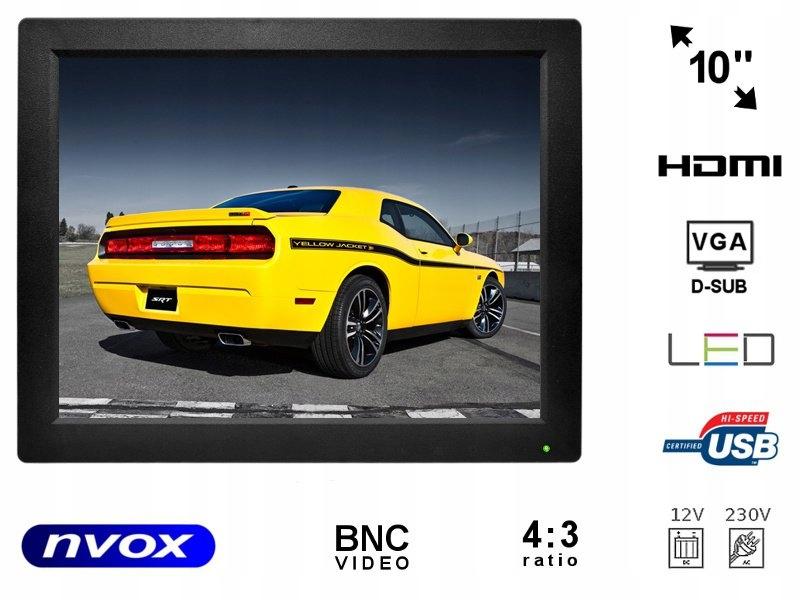 Monitor LCD 10cali cali LED VGA HDMI AV USB BNC