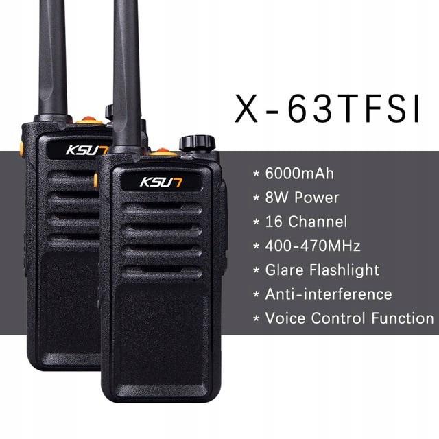 Radiotelefon Walkie Talkie krótkofalówka KSX30-QJ