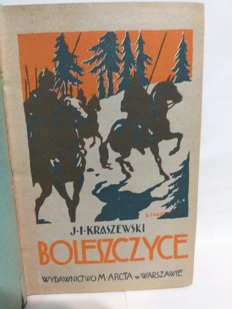 J.I.Kraszewski - Boleszczyce 1928