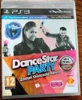 Dance Star Party PS3 PL Polska do kontrolera move