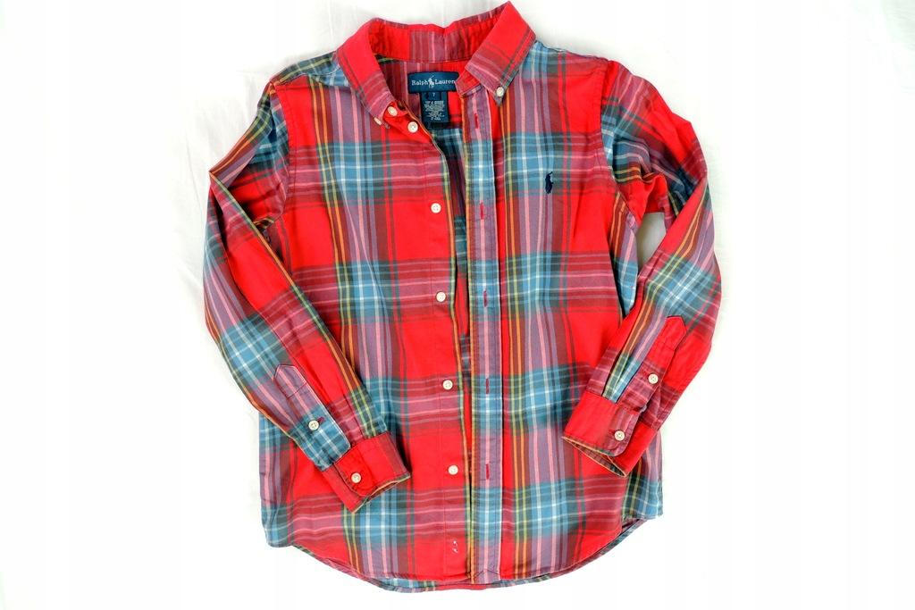 Elegancka koszula 7-8lat/128cm Ralph Lauren