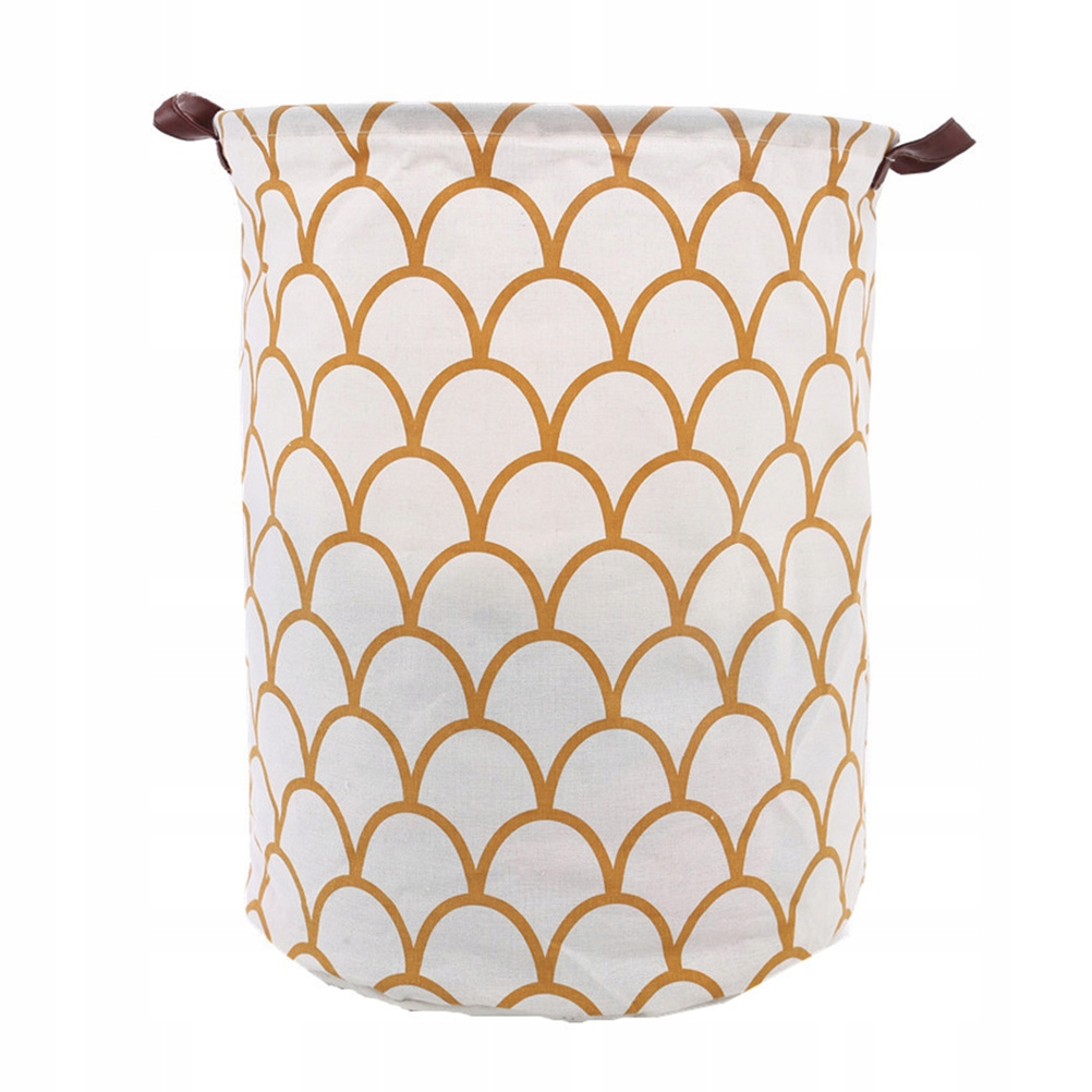 Cotton and Linen Laundry Basket Foldable Laundry H
