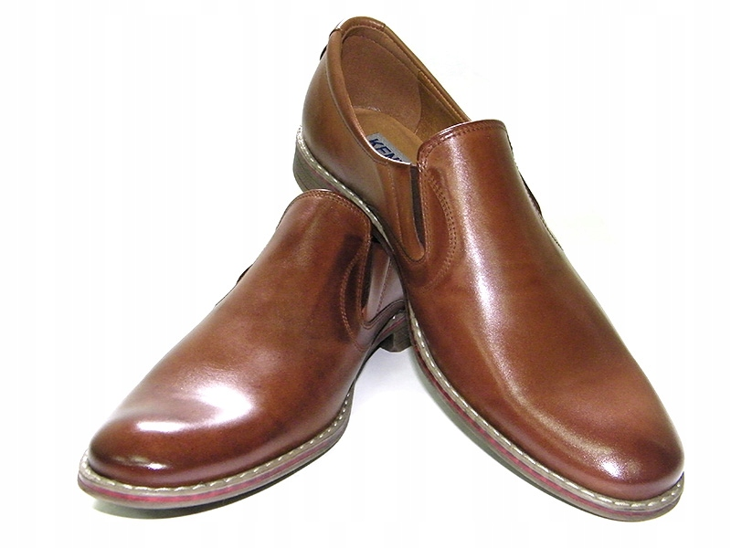 Mokasyny półbuty pantofle męskie KENT-BUT 209 C 42