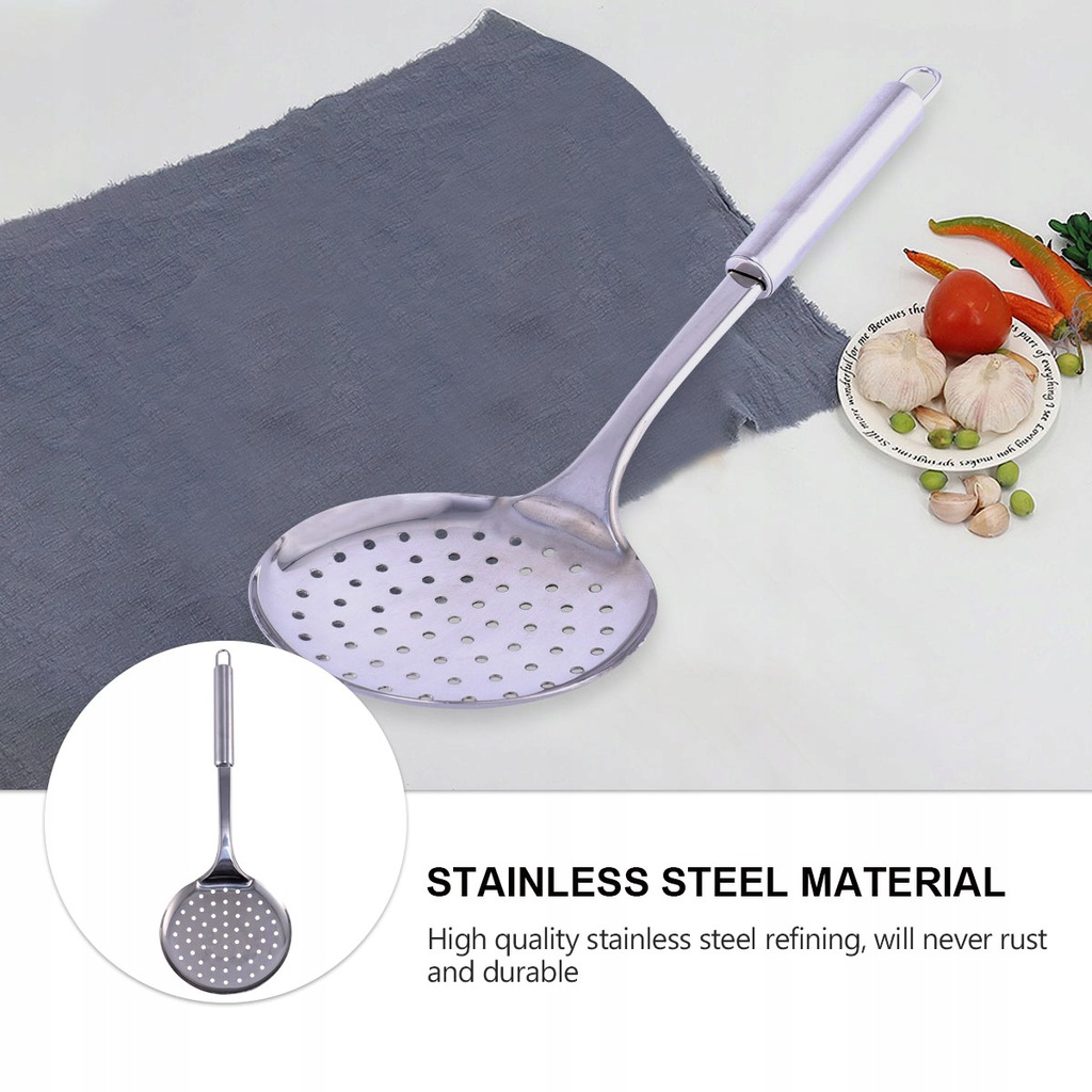 1 Pc Household Hot Pot Slotted Spoon Cooking Colan