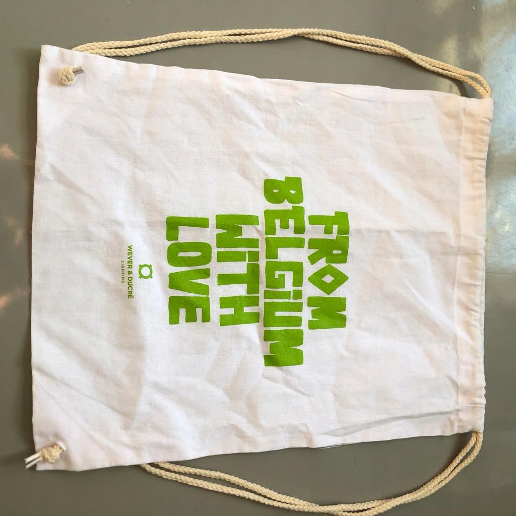 Worek na obuwie - plecak na sznurkach BELGIA