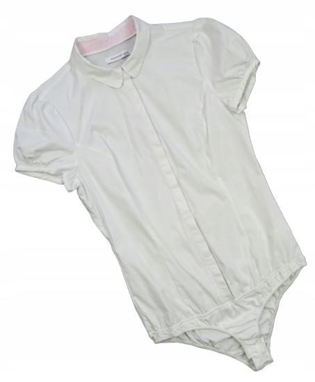51_ RESERVED koszulowe BODY białe 38/M