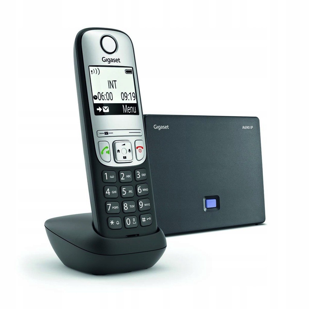 SIEMENS Gigaset Telefon A690 IP Czarny