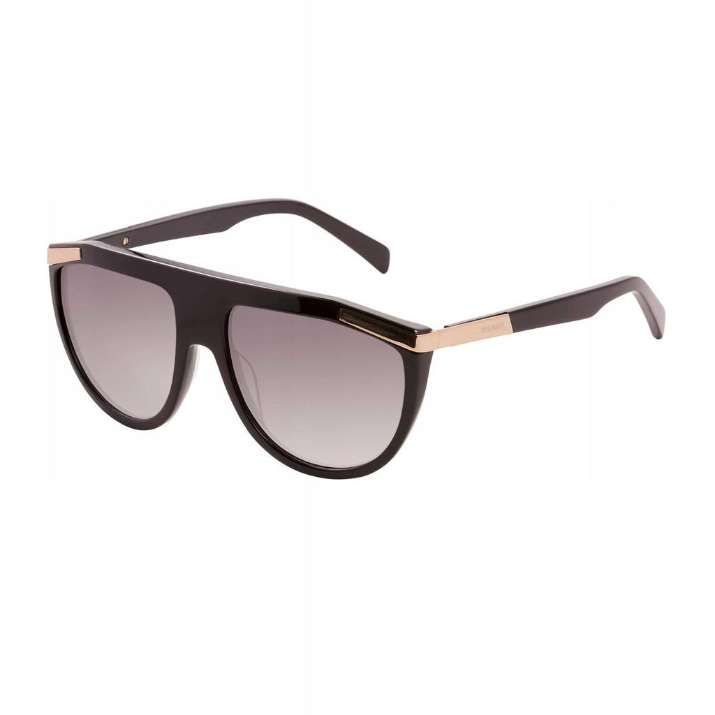 Balmain Okulary Sloneczne Unisex Brazowy 7865575945 Oficjalne Archiwum Allegro
