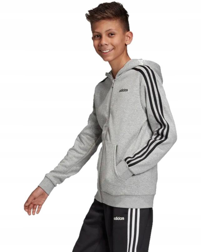 Bluza Dziecięca Junior ADIDAS Rozsuwana Kaptur 164