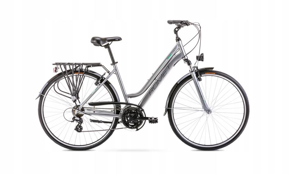 2028318 - 19 L Rower ROMET GAZELA 1 srebrno-zielon