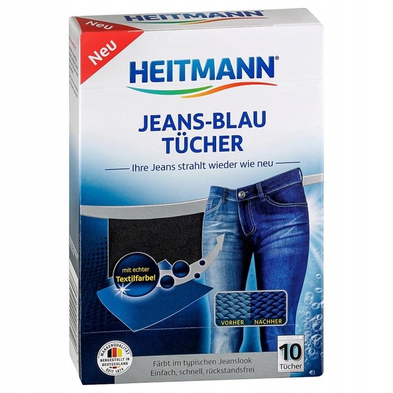 Heitmann jeans-blau chusteczki farbujące do jeansu