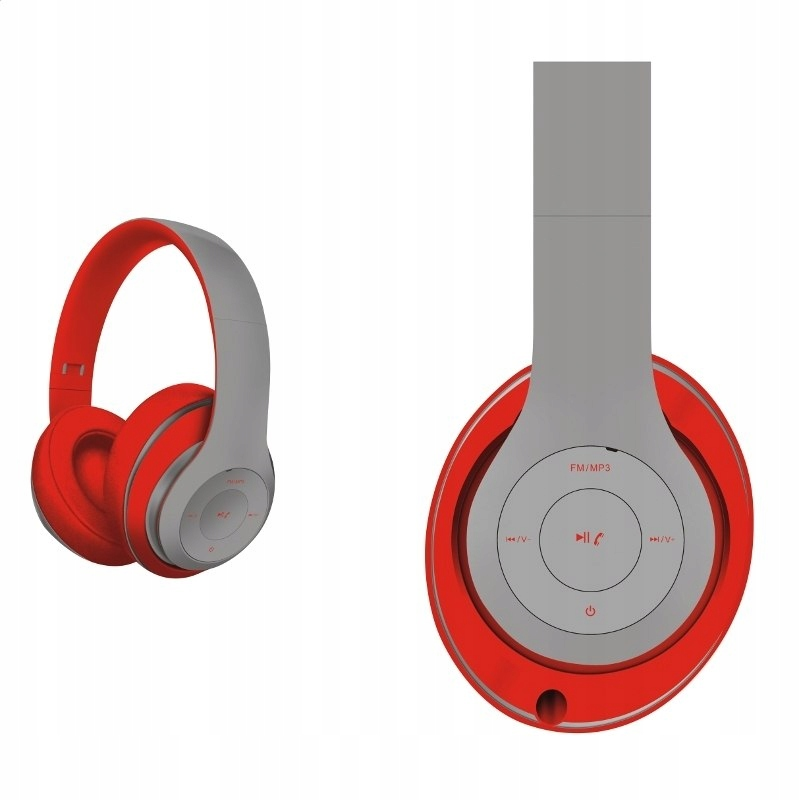 FREESTYLE HEADSET BLUETOOTH FH0916 GREY/RED [43683
