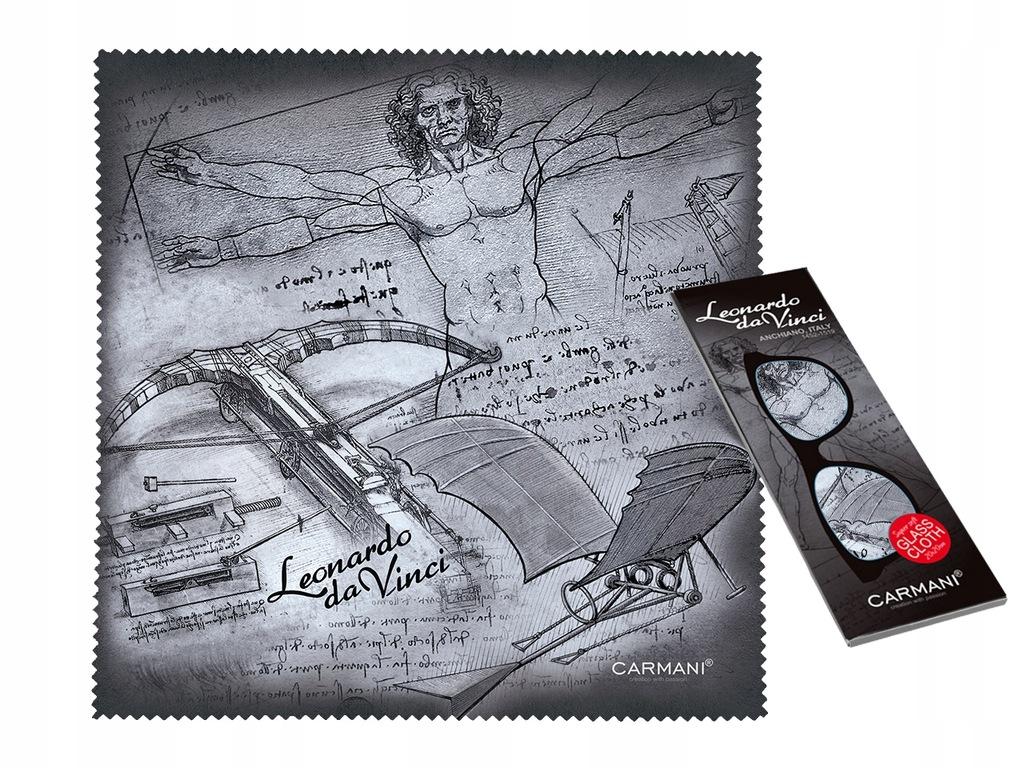 Da Vinci ŚCIERECZKA DO OKULARÓW prezent Mikołajki