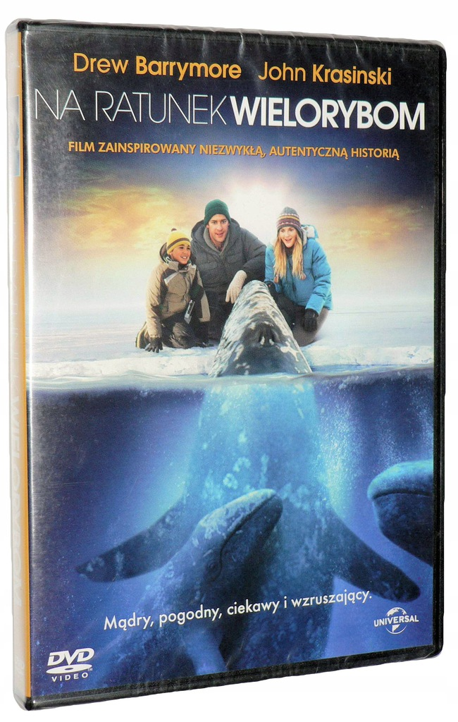 DVD - NA RATUNEK WIELORYBOM (2012) - polski lektor