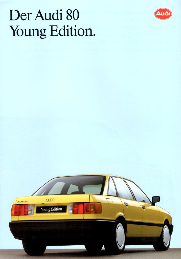 AUDI 80 YOUNG EDITION