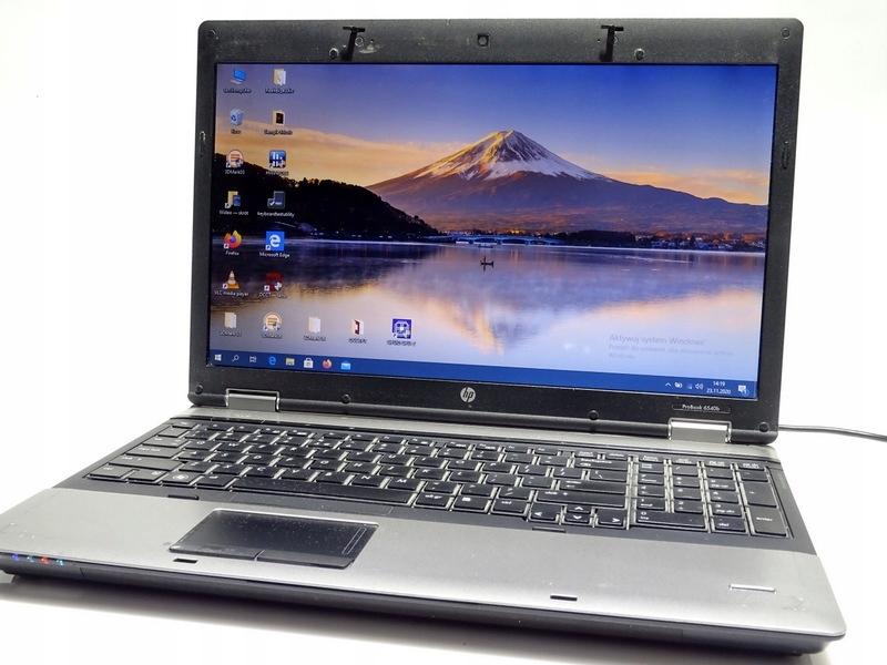 HP ProBook 6540b i5-430M 2x2,26GHz/4GB stick Win