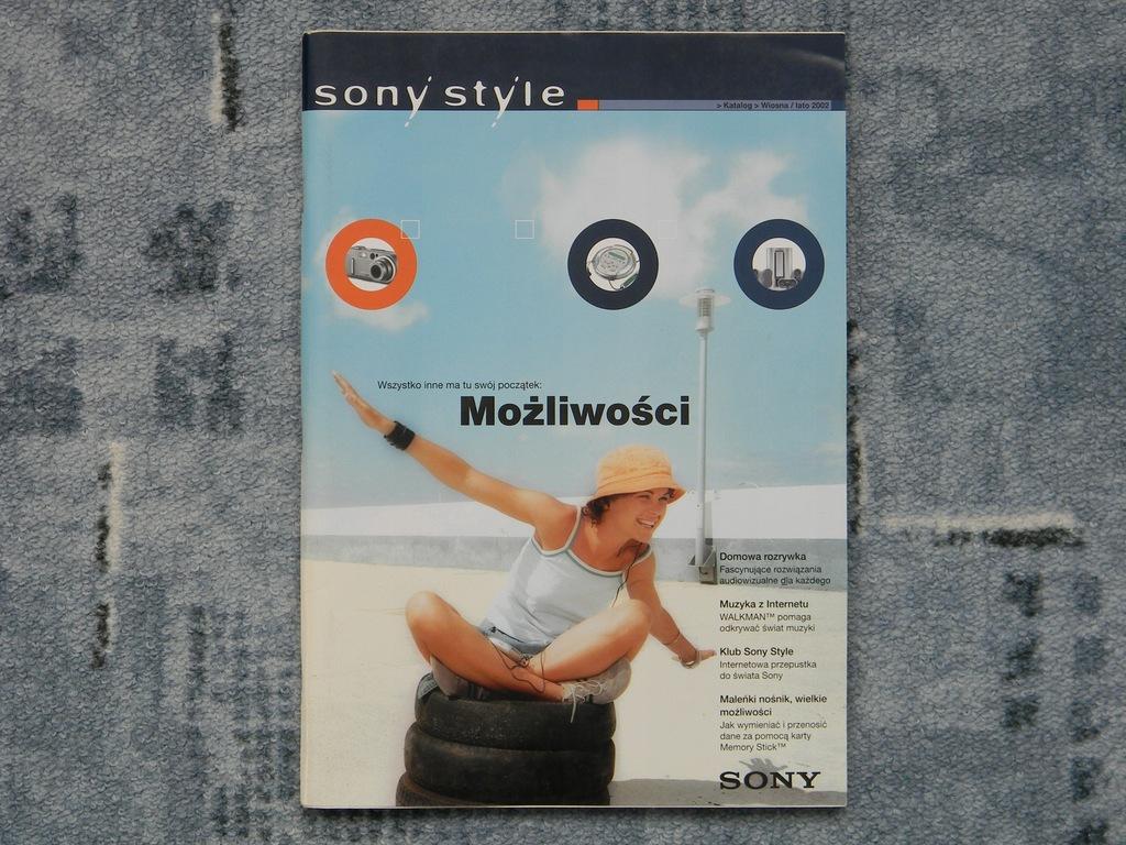 Katalog Sony 2002 rok