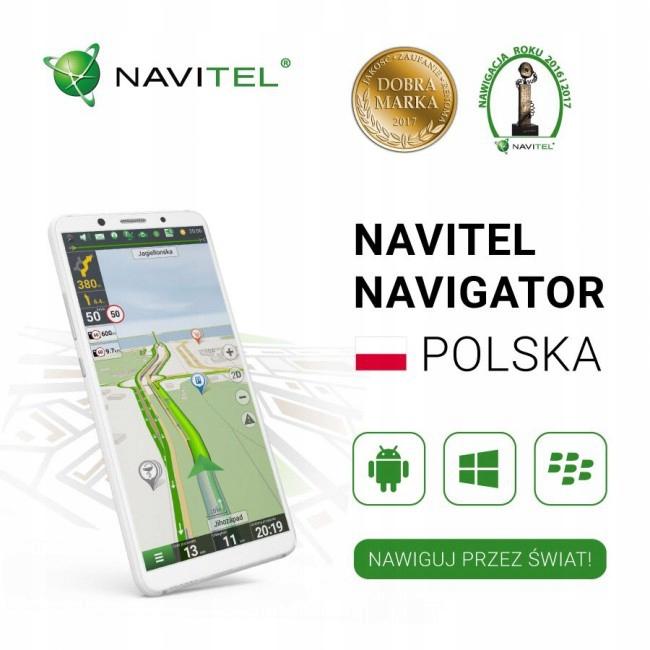 System map Navitel Navigator Polska