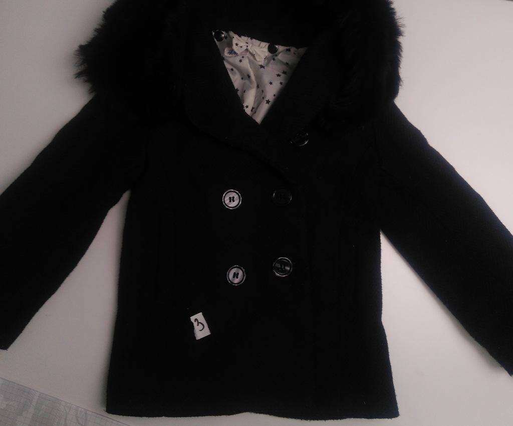 Elegancki Płaszcz H&M 104