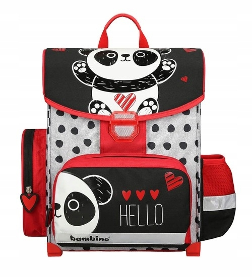 Tornister szkolny Premium Panda