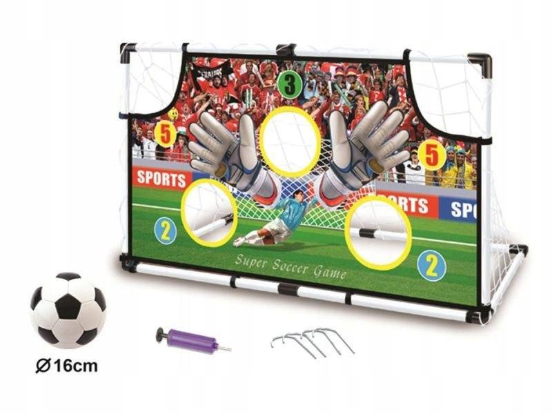 Zestaw Piłkarski - Bramka Do Gry W Piłkę Nożną