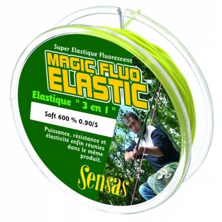 Sensas Amortyzator Magic Fluo Soft 600% 1,4 mm 7m