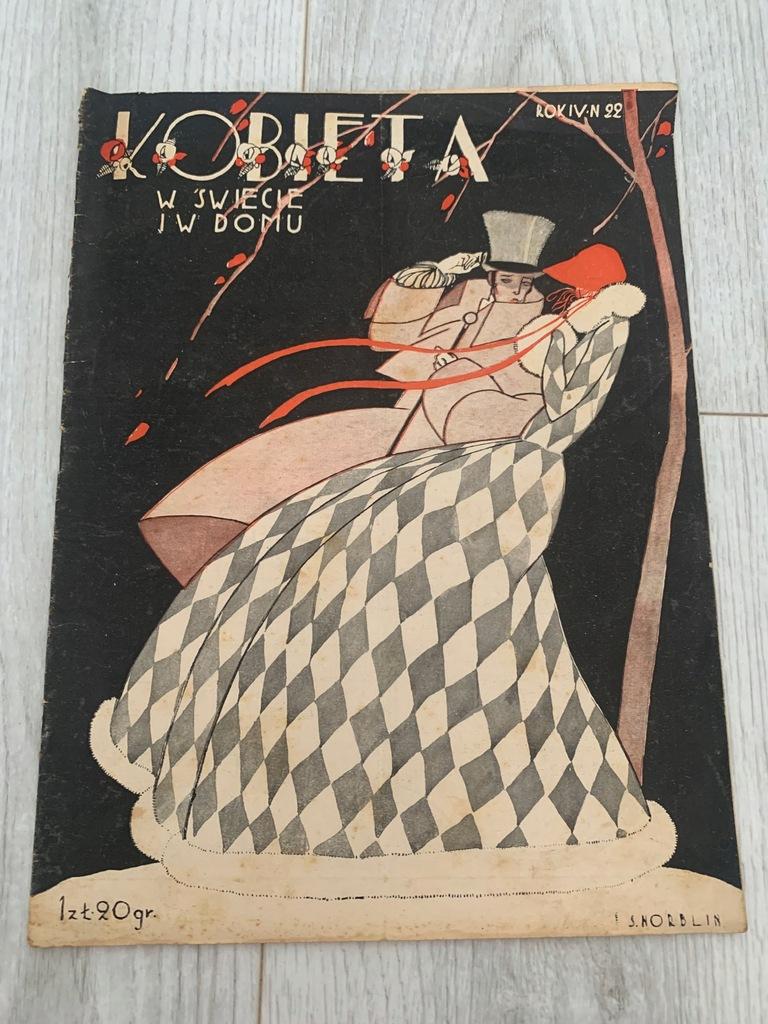 KOBIETA W ŚWIECIE I W DOMU LISTOPAD 1928 NORBLIN